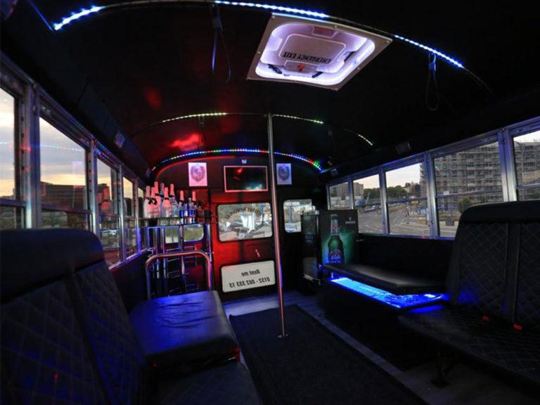 Partybus Innen