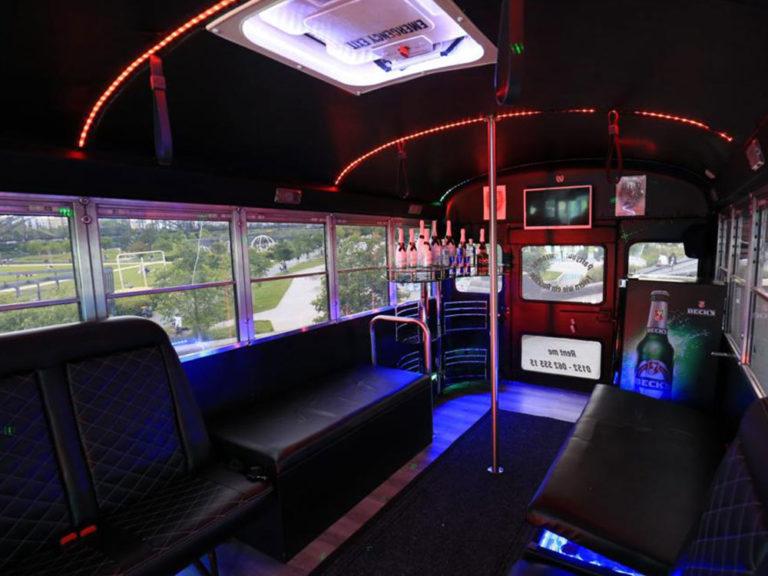 Partybus Innenansicht